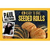 Paul Hollywood 6 Ready to Bake Seeded Rolls