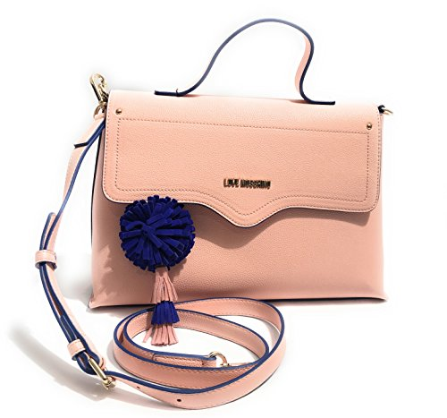 LOVE MOSCHINO - BORSA SMALL GRAIN PU