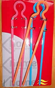 X 3 Learn How to Use Chopsticks The Easy Way Children Adults Kids Beginner