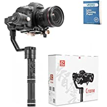 Zhiyun Crane Plus 3-Axis Handheld Gimbal Stabilize Max Payload 2.5kg With Intelligent Object Tracking For Mirrorless &DSLR Camera