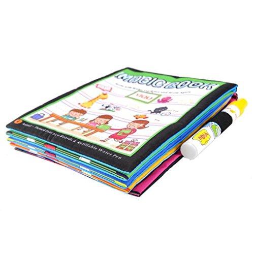 El Magic Water Drawing Book ayuda a los niños a reconocer colores y animales, los niños aprenderán mucho conocimiento del dibujo. Una vez que el color, las imágenes son muy vivas y coloridas. Tan pronto como se sequen las áreas coloreadas desaparecen...