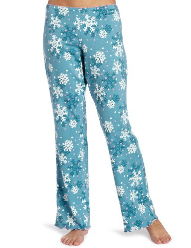Life is Good Damen Sleep Knit Pants xl türkis / blau (Blaue Damen Sleep-pant)