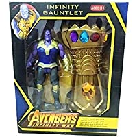 Maha Shakti Endgame Thanos Figure & Gauntlet - Wearable Thanos Glove - Avengers Toys Thanos Action Figure & Gauntlet Set…