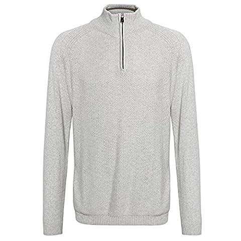 Affordable Fashion Herren Modern Pullover Gr. XX-Large, Oatgrey Marl