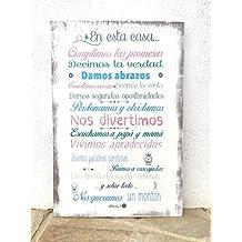 Amazon.es: carteles vintage madera