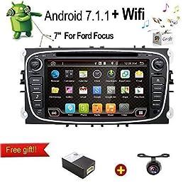 JOYX Android 10 Doppia Din Autoradio Compatibile Ford Focus / Mondeo / S-Max / Galaxy / C-MAX – Gratuita Camera Canbus…