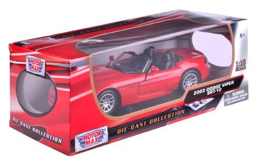 richmond-giocattoli-118-2003-dodge-viper-srt-10-collezionisti-die-cast-model-car-red