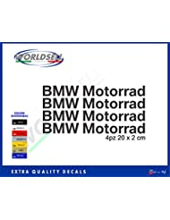 Pegatinas BMW S1000RR MOTOCICLETA 1200 1150 GS ADVENTURE SERIE RT M F C R K (negro)