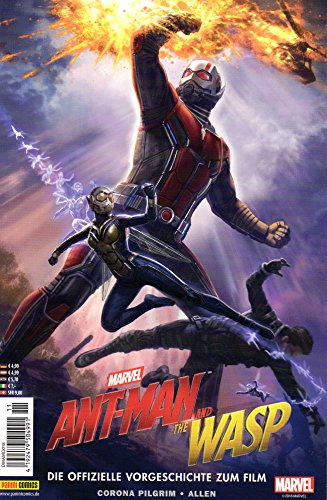 Ant-Man Marvel The Wasp Movie Comic: DIE Offizielle VORGESCHICHTE ZUM Film