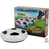 Shoppertize Indoor Football Sport Toys The Ultimate Soccer Game, With Multi Lighting Feature -Magic Hover Football Toy Indoor Play Game Best Toy For Kid