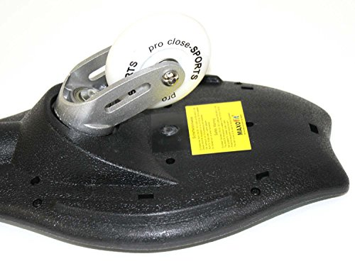 MAXOfit Waveboard Pro Close Mini Luna, bis 129 Kg mit Tasche, 14087 -