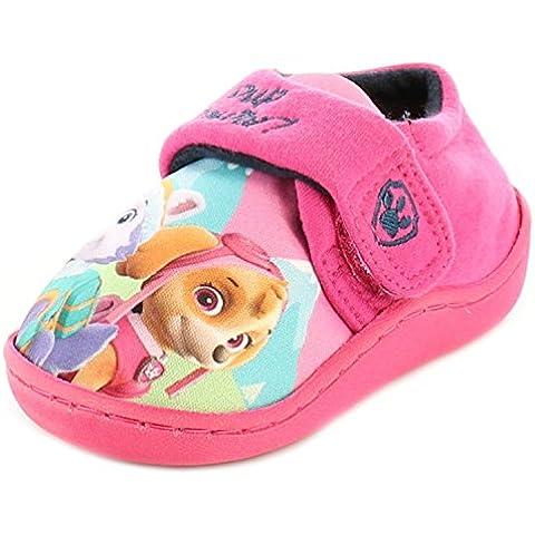 Paw Patrol - Zapatillas de estar por casa de Material Sintético para niña Rosa rosa