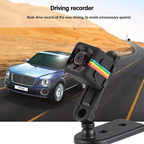 Pawaca Mini Camera HD SQ11 Microcamere Spia per visione notturna 1080P Sport Mini DV Videoregistratore Telecamera per auto a infrarossi Rilevatore di movimento - 6