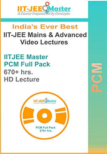 IIT JEE Master Physics Chemistry Maths Video Lectures Package Starter