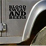 Schwarz Blut Schweiß und Bier Gas Schnell Laut Hot Rod Euro Monkey Van Aufkleber Vinyl …