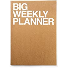 Jstory Big Personal Wide Spaces Weekly Planner 28 Sheets Brown