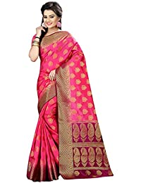 Nirja Creation Silk Saree With Blouse Piece