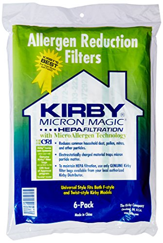 Kirby G10 G10E G10SE Vacuum Cleaner Genuine HEPA Dust Bags (Pack of 6) by Kirby -