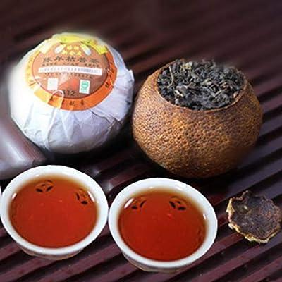 250g (0,55LB) zeste de mandarine Emballage Puerh thé mûr Pu'er orange thé noir cuit au four Puer thé noir cuit Pu-erh thé thé Pu erh thé chinois thé sain thé Puerh thé rouge QiZi cha