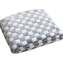 Cdet Manta de mascotas diseño de puntos mascotas suaves y cálidas camas de cama de cachorro