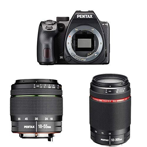 Foto Pentax K-70 Fotocamera Digitale, Sensore CMOS APSC da 24 Mp, Monitor LCD da...