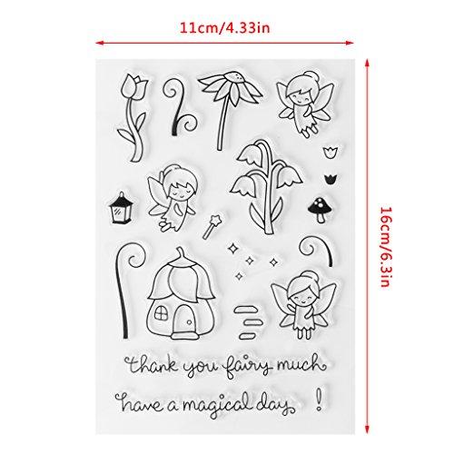 -Blumen, transparent, zum Basteln von Karten und Kunstwerken - beste Halloween-Danksagungsgeschenke, Weihnachtsgeschenk ()