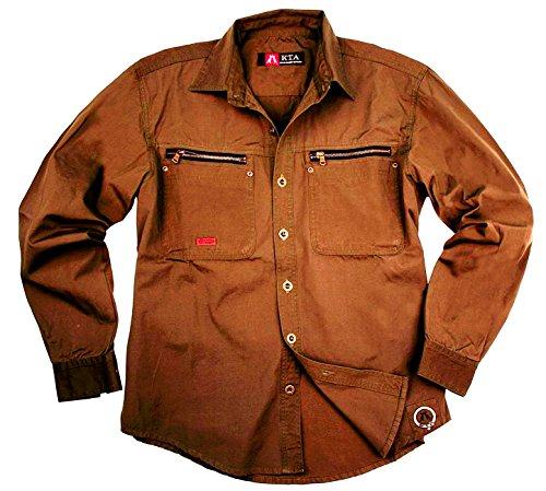 Kakadu Traders Outdoor lavoro camicia Schofield Dunkelblau