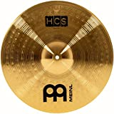 "Meinl Cymbals HCS16C 16"" HCS Brass Crash Cymbal for Drum Set (VIDEO)"