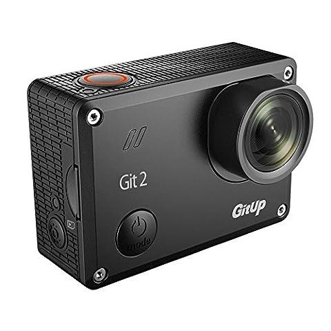 Boblov GitUp Git2 2K 30fps Novatek 96660 1080P WiFi Aktion Sport wasserdichte Kamera DVR mit Keychain (Mit Extra 2 Batterien)