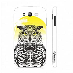 Samsung Galaxy J5 Owl Rising designer mobile hard shell case by Enthopia