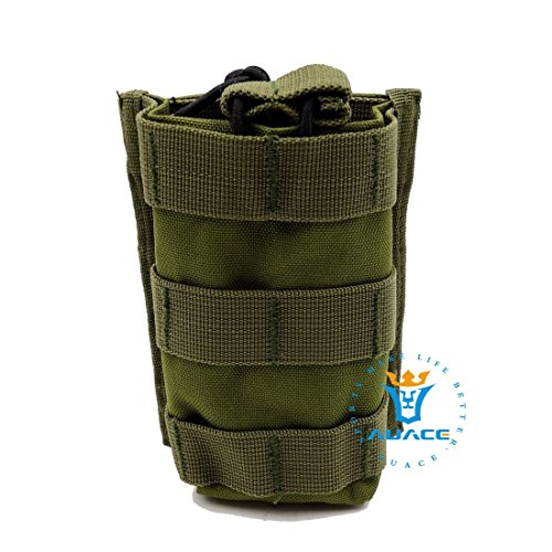 Multifunktions Survival Gear Tactical Beutel MOLLE Beutel Magazintasche Gewehr Kartusche Tasche, Outdoor Camping Tragbare Tasche Handtaschen Magazintasche Werkzeug Tasche Reise Tasche OD