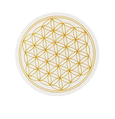 Blume des Lebens, Magnet, 8 Stück im Set, Kühlschrankmagnete für Glasboards, Magnet-Pinnwände, Whiteboards und alle metallischen Flächen -