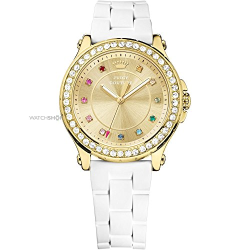 Juicy Couture Women's 1901238 Pedigree Analog Display Quartz White Watch by Juicy Couture