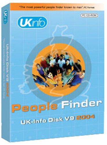 UK-Info Disk Standard 9.0 People Finder 2004 Test