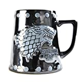 Game of Thrones Bierkrug - Stark & Ohrstecker