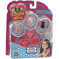 Giochi Preziosi - Cuccioli Cerca Amici, Set 3 Cagnolini con Accessorio per Bambina, Modelli Assortiti