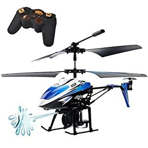 DeliaWinterfel WLToys V319 Remote Control 3.5 Channel Water Shooting Helicopter by DeliaWinterfel