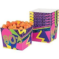 Boland 44609–Set 6Schüsseln Jahre '80, Mehrfarbig