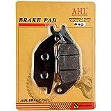 AHL Kit Motocyclette plaquettes de frein Arrière pour HONDA XL 125 V1/V2/V3/V4/V5/V6/V7/V8/V9/VA Varadero 2001-2011
