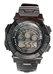 Surya Sporty Look Digital Black Dial watch for Kids in Black Color -SS03