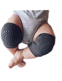 Sannysis rodilleras protector para bebé niños calcetines de arrastre antideslizantes