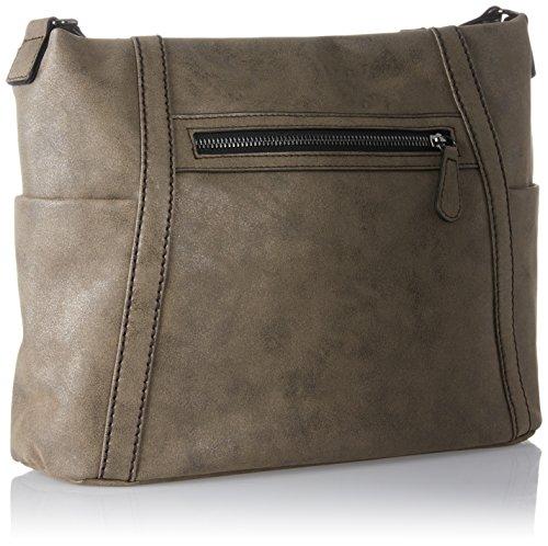 s.Oliver (Bags) - 39.708.94.6022, Borse a spalla Donna Marrone (Brown)