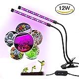 HUABEI Lampe de Plante LED Lampe de Croissance Bleu et Rouge for Fleurs Légumes Dimmable (12)