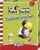 Rabe Socke - Zahlenraten: AMIGO - Kinderspiel / 50 Spielkarten, 1 Spielanleitung