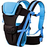 Cutieco Premium Quality Sling Backpack Baby Carry Bag, Royal Blue