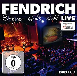 Rainhard Fendrich - Besser wird's nicht/Live (+ CD)