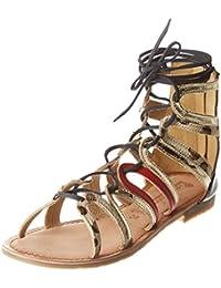 Womens Gaule Gladiator Sandals Ilario Ferucci