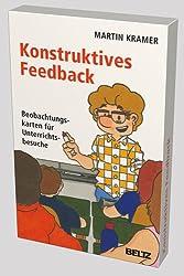 Konstruktives Feedback: Beobachtungskarten für Unterrichtsbesuche