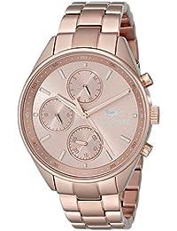 Lacoste Damen-Armbanduhr Analog Quarz Edelstahl 2000867