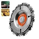 """Spezifikationen: Material: Stahl Werkzeugleistengröße: 16mm (3/5 """") Durchmesser: 102 mm (4 """") Radstärke: 0,5 cm Abstand: 3/8 """"(9,5 mm) Höchstgeschwindigkeit (U / min): 25000 Anwendungsbereich: für 100/115 Winkelschleifer  Paket beinhaltet: 1 x Winkel..."""